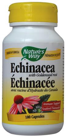 Nature's Way Echinacea & Goldenseal 100 Capsules
