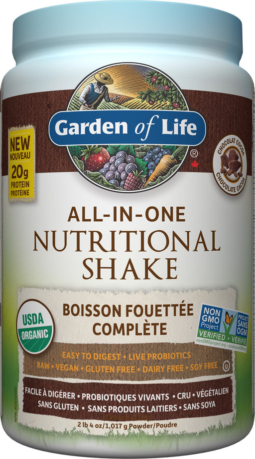 Garden of Life All In One Nutritional Shake Chocolate