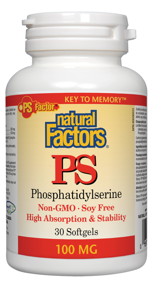 Natural Factors PS (Phosphatidylserine)