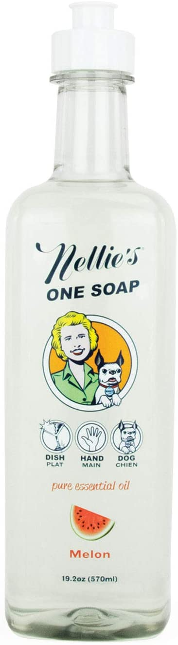Nellie's All Natural One Soap - Melon 570 ml