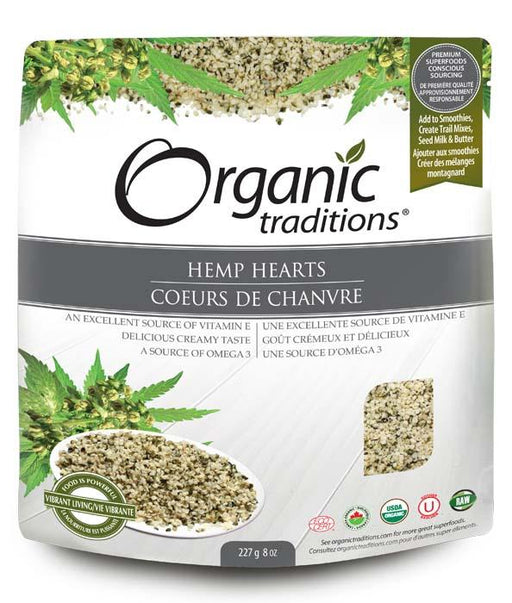 Organic Traditions Hemp Hearts