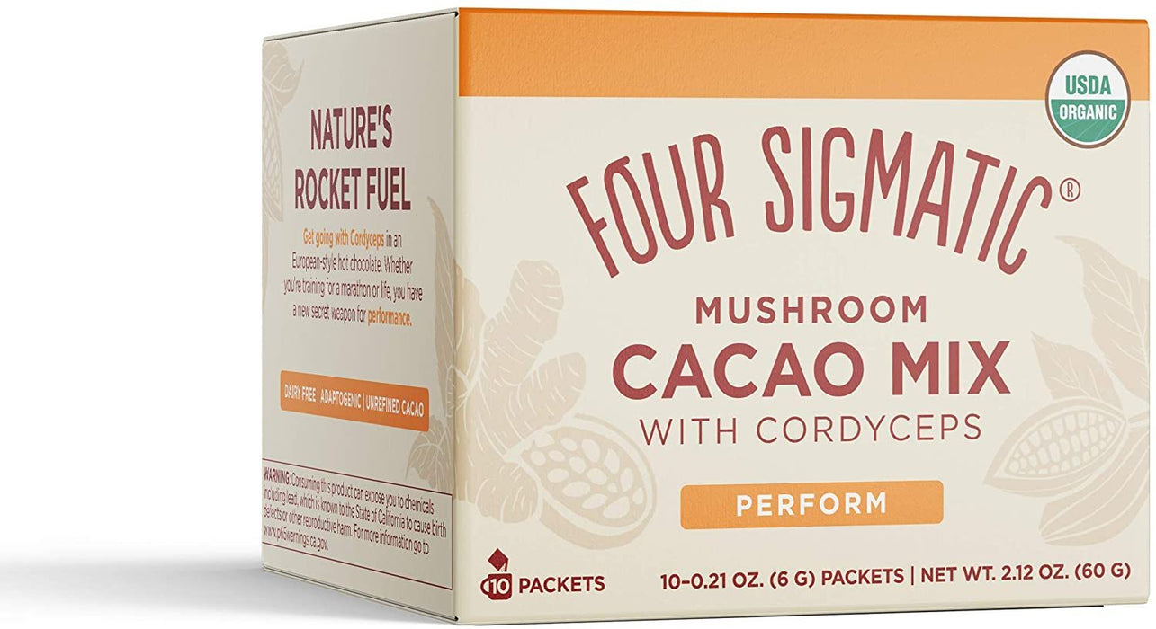 Four Sigmatic Mushroom Hot Cacao Mix with Cordyceps