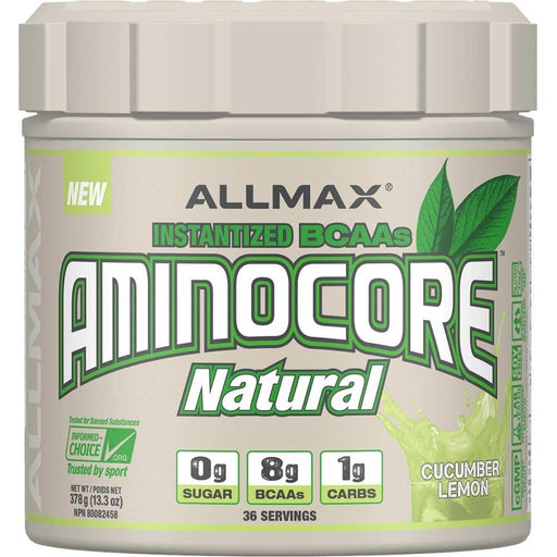 ALLMAX AminoCore Natural Cucumber Lemon 378 g