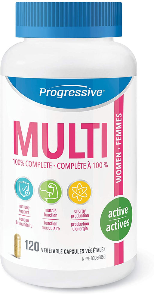Progressive MultiVitamin for Active Women 120 Capsules