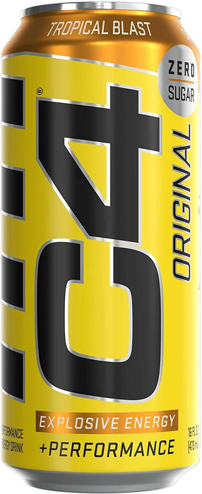 Cellucor C4 Carbonated Tropical Blast 473 mL Can