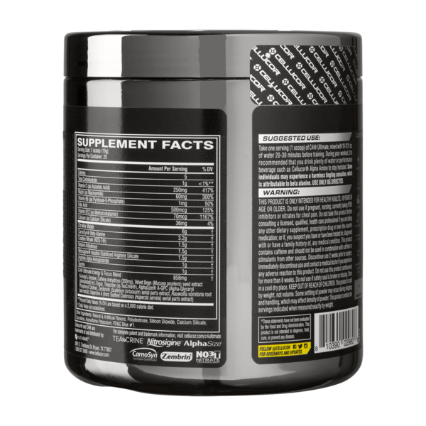 Cellucor C4 Ultimate Icy Blue Razz 20 Servings