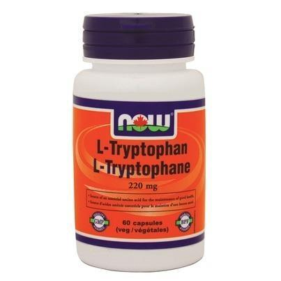 NOW L-Tryptophan 220 mg 60 V-Caps