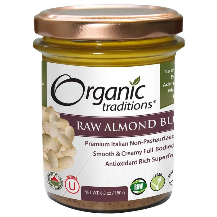 Organic Traditions Raw Almond Butter