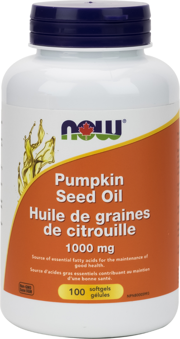 NOW Pumpkin Seed Oil 1000 mg 100 Softgels