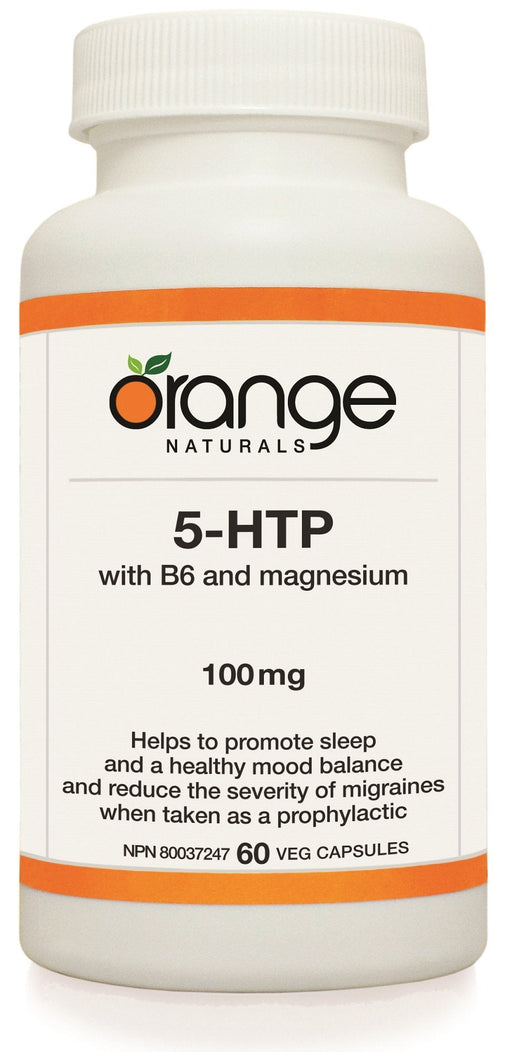 Orange Naturals 5-HTP 100mg with B6 and Magnesium