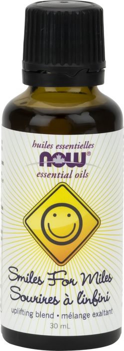NOW Smiles For Miles Essential Oil Blend 30 ml