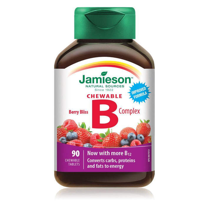 Jamieson B Complex Berry Bliss 90 Tablets