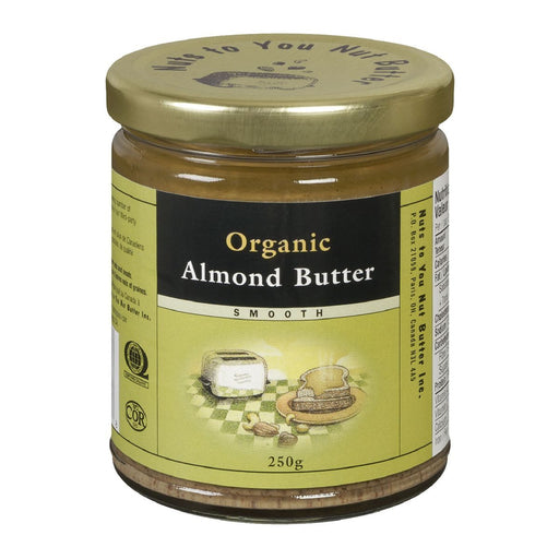 Nuts to You Nut Butter Organic Almond Butter - Smooth 250g