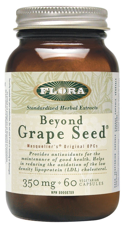 Flora Beyond Grape Seed 350 mg 60 Capsules