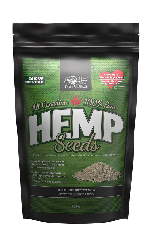 North Coast Naturals 100% Raw Hemp Seeds 454 g