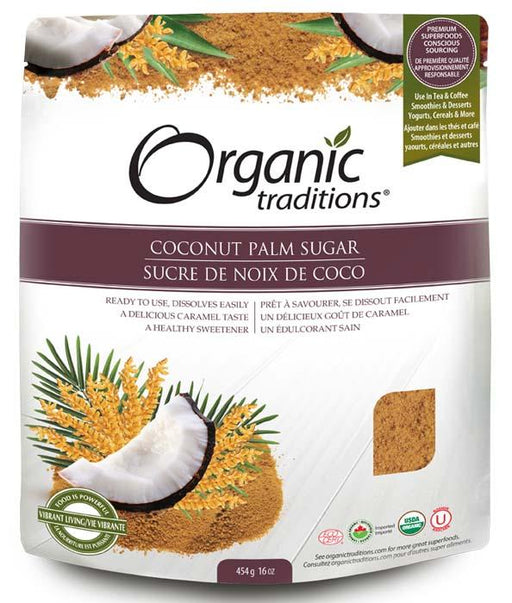 Organic Traditions Coconut Palm Sugar
