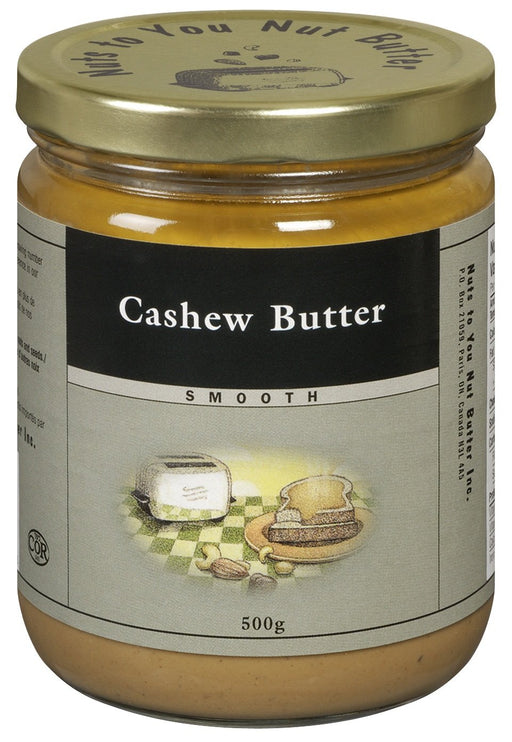 Nuts to You Nut Butter Cashew Butter - Smooth 500 g