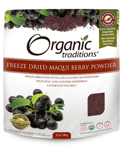 Organic Traditions Freeze Dried Maqui Berry Powder