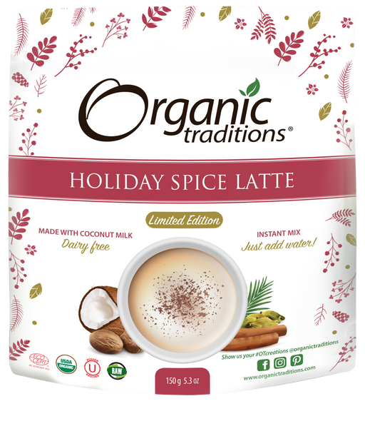 Organic Traditions Holiday Spice Latte 150 g