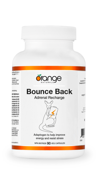 Orange Naturals Bounce Back Adrenal Recharge 90 Capsules