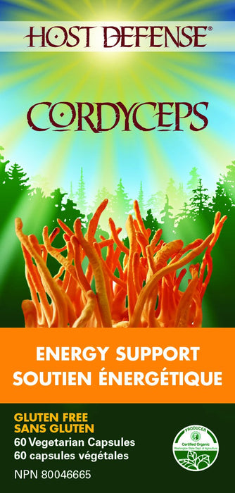 Host Defense Cordyceps - Energy Support 60 Capsules