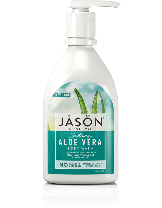 Jason Soothing Aloe Vera Body Wash 887 ml