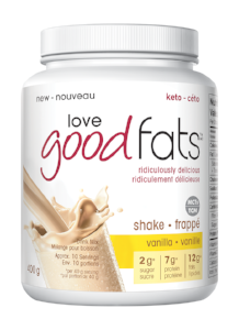 Love Good Fats Shake Vanilla 400 g