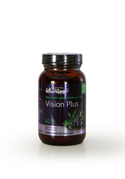 Bee Happy Vision Plus, Bilberry with Lutein