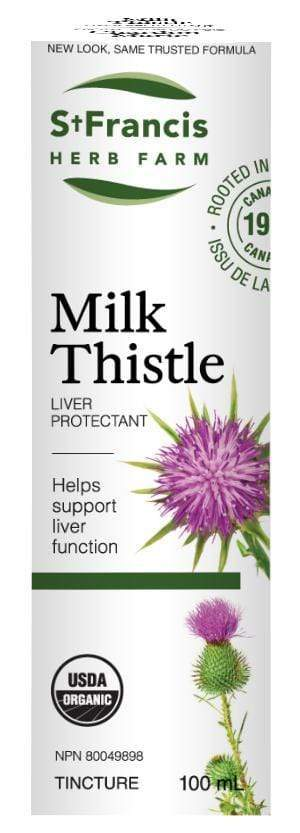 St. Francis Herb Farm Milk Thistle Tincture