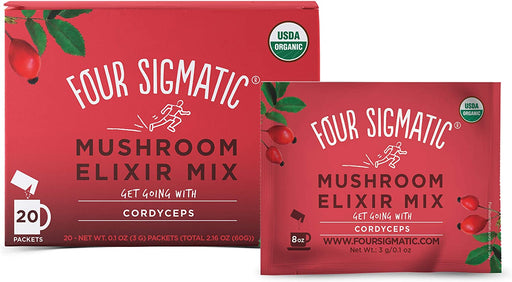 Four Sigmatic Cordyceps Mushroom Elixir Mix 20 x 3 g Packets