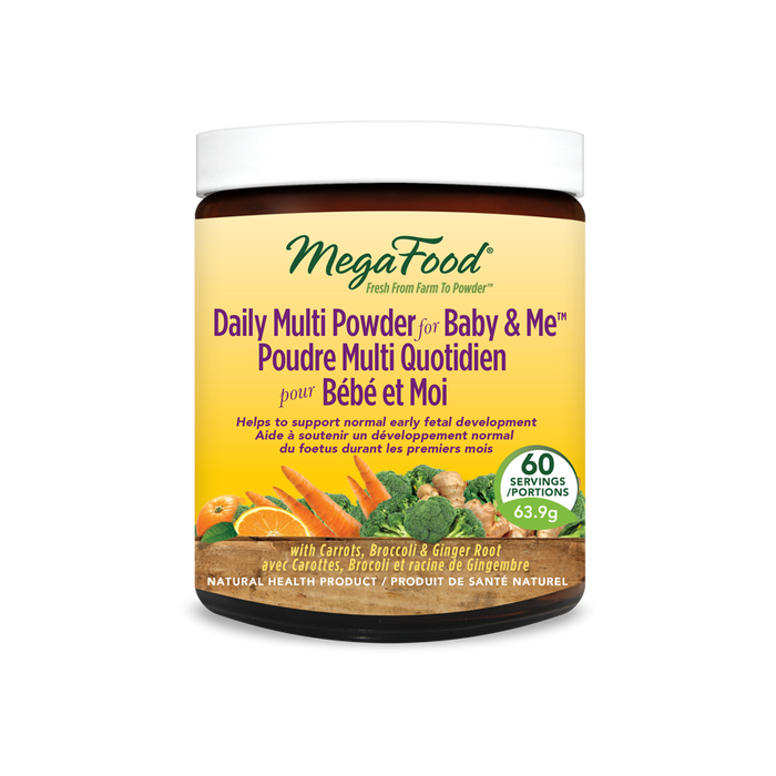 MegaFood Daily Multi Powder for Baby and Me 151.2 g