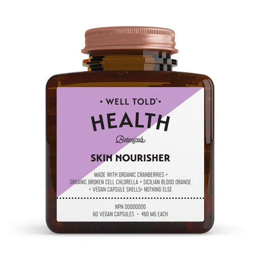 Well Told Health Skin Nourisher 460 mg 60 V-Caps
