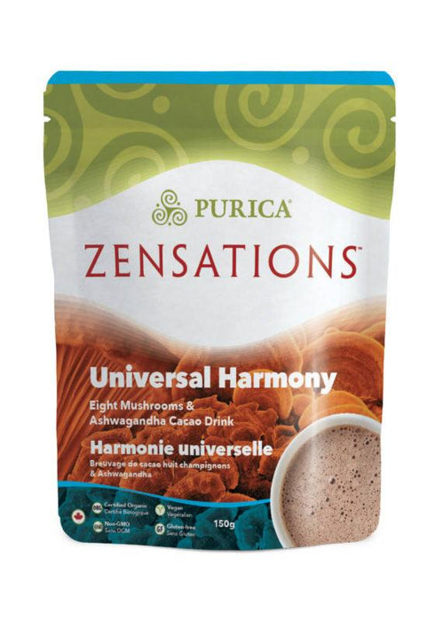 Purica Zensations Universal Harmony Eight Mushrooms & Ashwagandha Cacao Drink 150 g