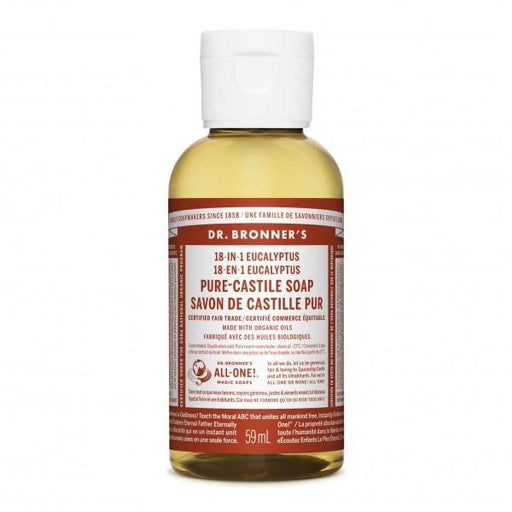 Dr. Bronner's Eucalyptus Liquid Soap 59mL