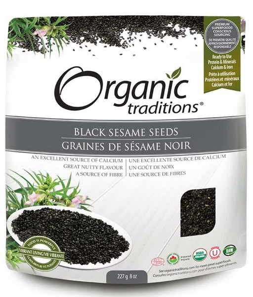 Organic Traditions Black Sesame Seeds