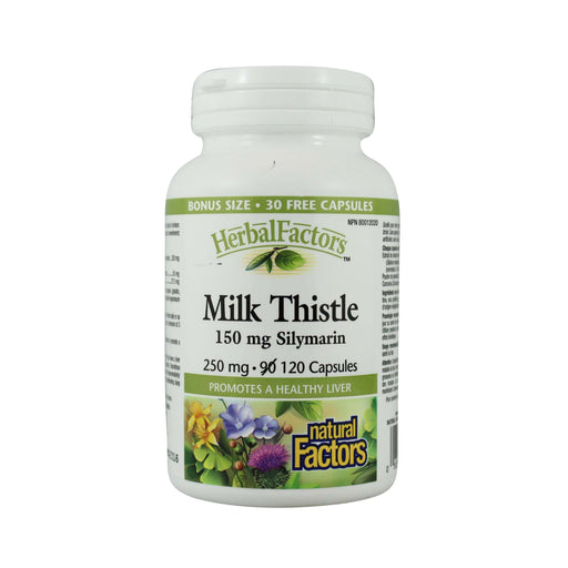 Natural Factors Milk Thistle - Bonus Size 120 Capsules