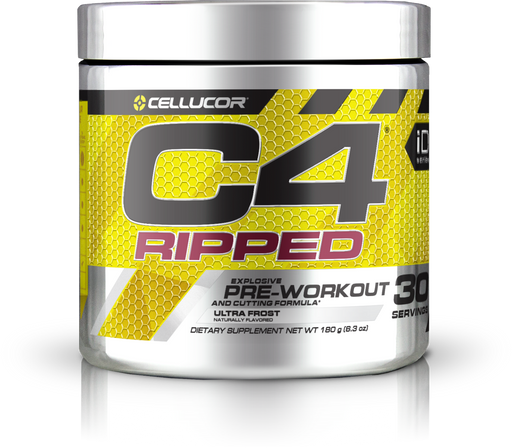 Cellucor C4 Ripped Pre-Workout Ultra Frost 30 Servings