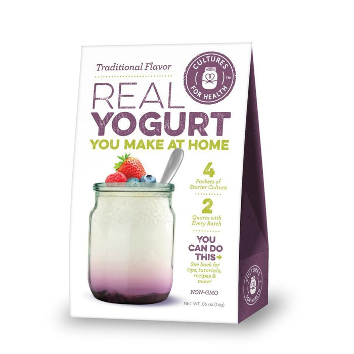 Cultures For Health Traditional Flavour Yogurt