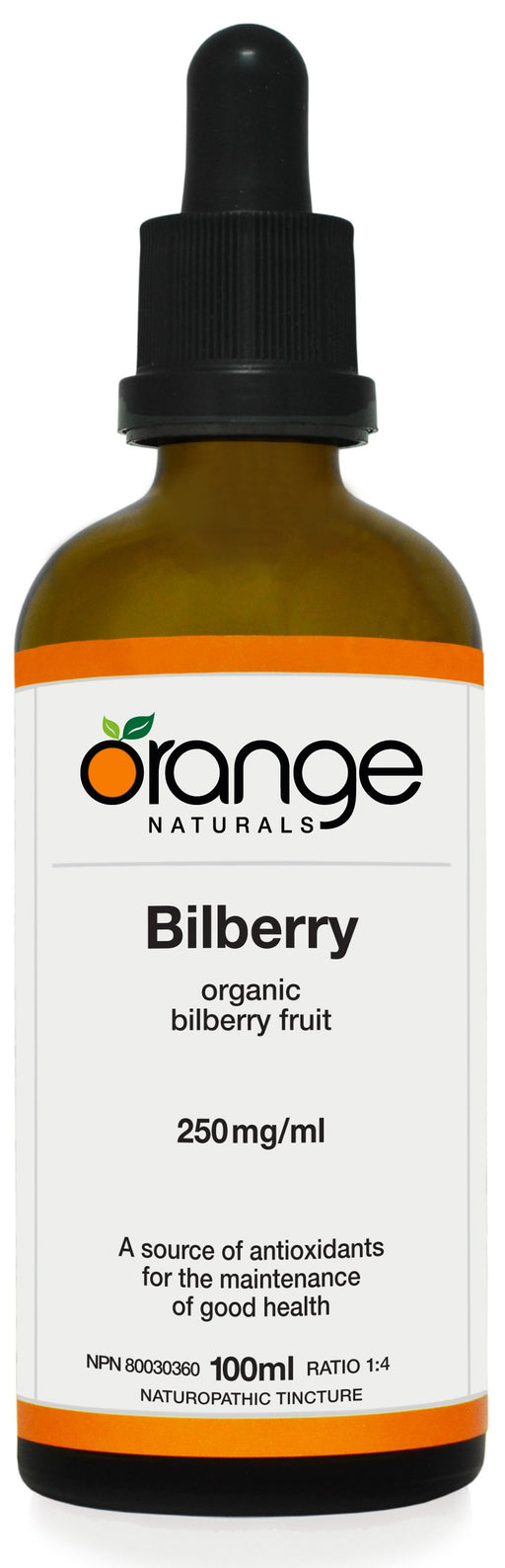 Orange Naturals Bilberry
