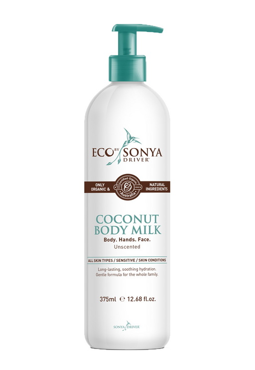 Eco By Sonya Driver Coconut Body Milk Unscented