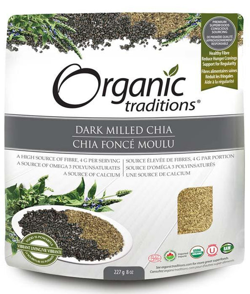 Organic Traditions Dark Milled Chia