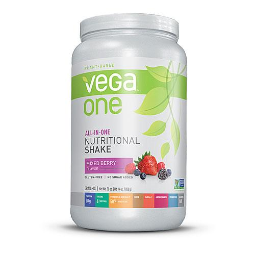 Vega All in One Nutritional Shake - Mixed Berry Flavour