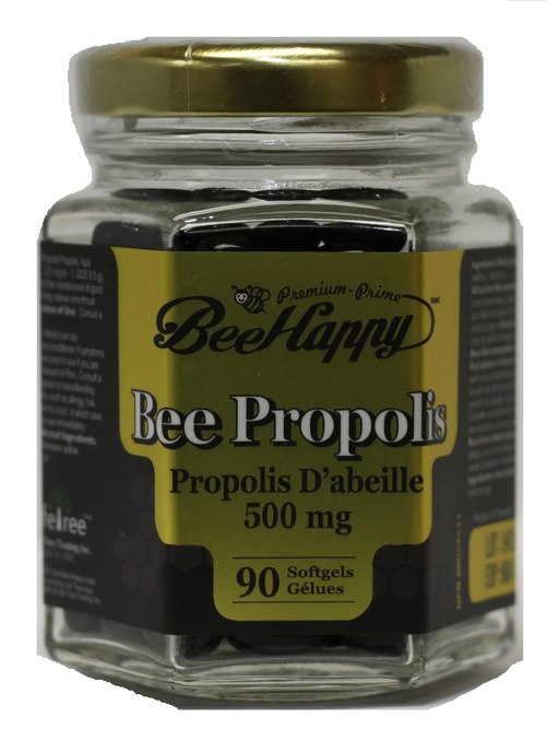 Bee Happy Bee Happy-Propolis 500 mg 90 Softgels