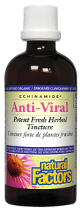 Natural Factors Anti-Viral Potent Fresh Herbal Tincture 50 ml