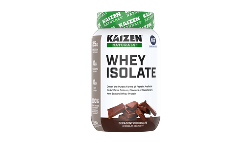 Kaizen Naturals Whey Isolate Decadent Chocolate 840 g