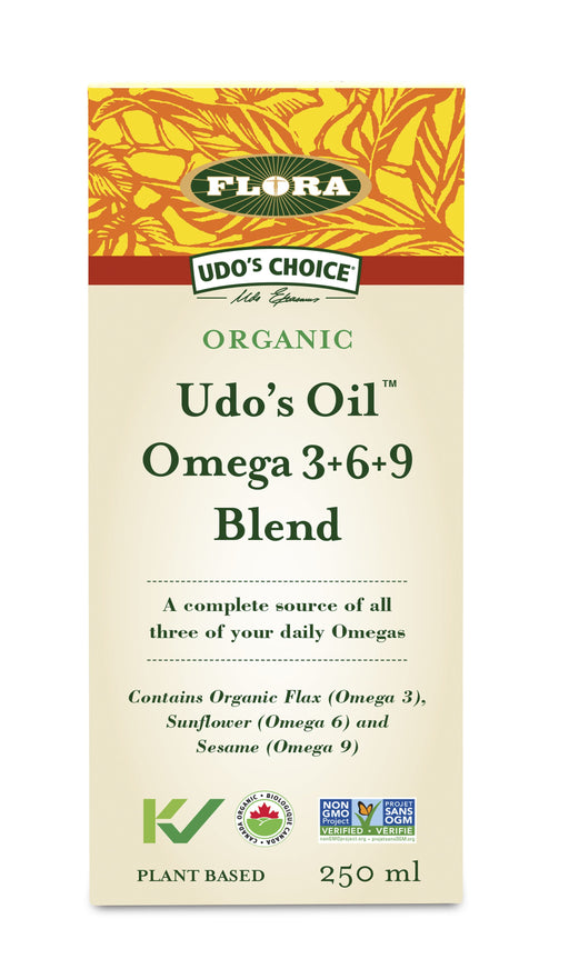 Flora Udo's Choice Organic Udo's Oil Omega 3+6+9 Blend 250 ml