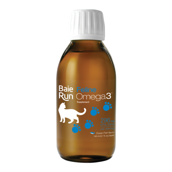 Baie Run Feline Omega-3 Ocean Fish Flavour 140 ml