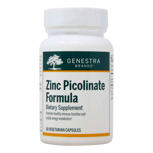 Genestra Zinc Picolinate Formula Mineral Supplement 60 Vegetarian Capsules