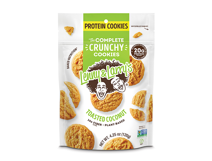Lenny & Larry's Crunchy Cookies Toasted Coconut 120 g