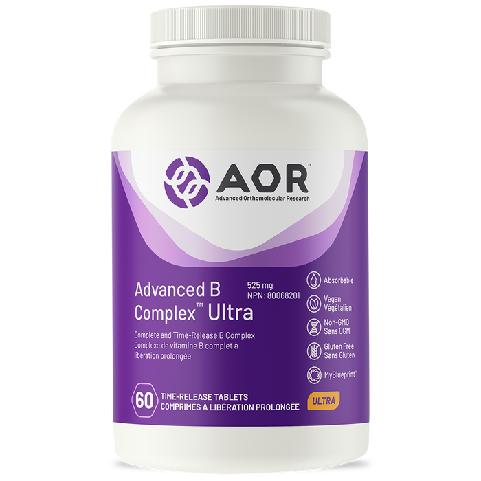 AOR Advanced B Complex Ultra 60 Time-Released Tablets